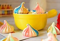 彩虹蛋白糖的做法