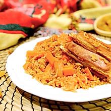 新疆菜-古法羊肉手抓饭