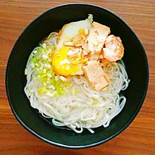 虾仁鸡蛋蒸豆腐(15分钟 无油烟)