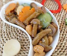 清炒滑子菇的做法