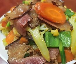 炒腊肉的做法