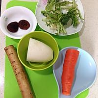 五行蔬菜汤的做法图解1