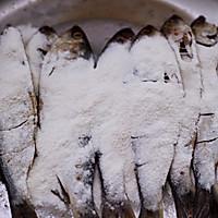 #带着零食去旅行!#干炸海鲫鱼的做法图解12