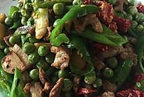 小炒豌豆的做法