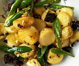 辣椒炒日本豆腐的做法