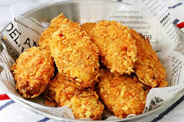 完爆KCF的薯片炸鸡翅 | 超好吃烤箱体验的做法