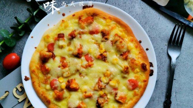 """#2021趣味披萨组——芝香""""食""""趣#奥尔良鸡肉香肠披萨的做法"""