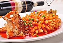 春日限定|国宝级菜品松鼠桂鱼的做法