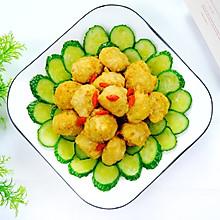 #餐桌上的春日限定#黄瓜炒素丸子,营养美味高颜值。