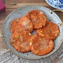 #一人一道拿手菜# 韩式泡菜煎饼