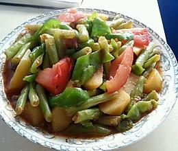 茄汁龙虎豆的做法