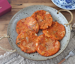 #一人一道拿手菜# 韩式泡菜煎饼的做法