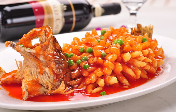 春日限定|国宝级菜品松鼠桂鱼