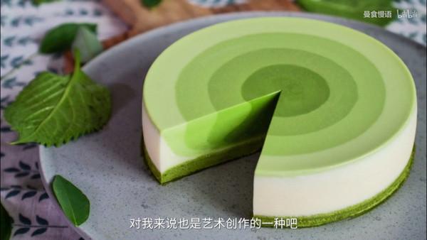 抹茶渐变慕斯蛋糕-6寸的做法