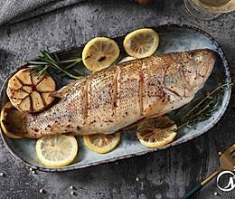 地中海柠檬烤鱼的做法
