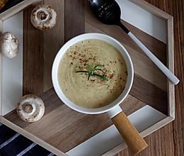 口蘑土豆浓汤#10分钟早餐大挑战#的做法
