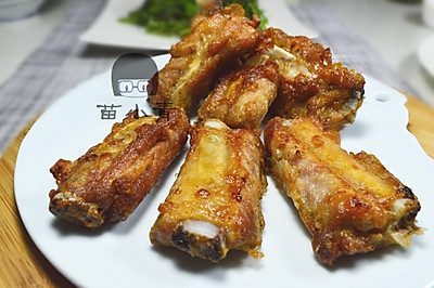 空炸蒜香排骨#九阳烘焙剧场#