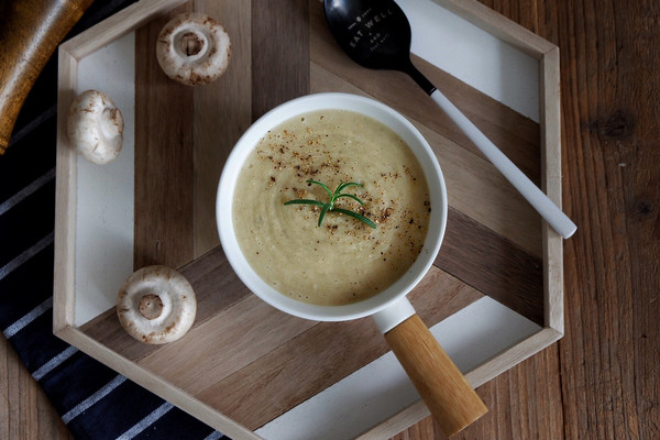口蘑土豆浓汤