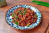 #橄榄中国味 感恩添美味#干煸牛肉丝的做法