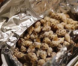 下酒菜——盐焗花螺(烤箱版)的做法