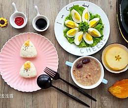 浓情早餐#铁釜烧饭就是香#的做法