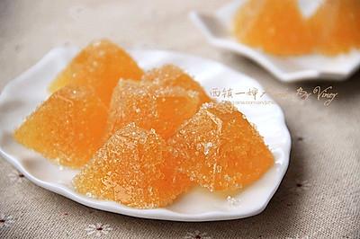 天然橙汁软糖