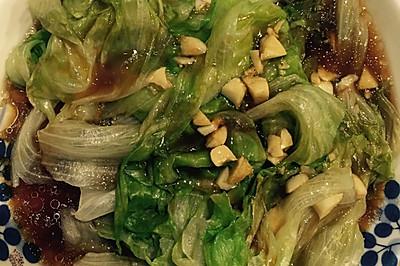 超简单的蚝油生菜