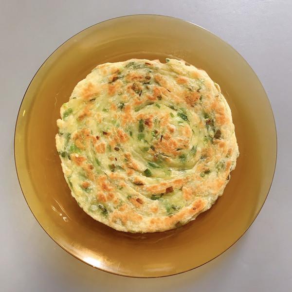 香酥葱花饼的做法