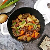 #父亲节,给老爸做道菜#胡萝卜土豆炖牛腩的做法图解16