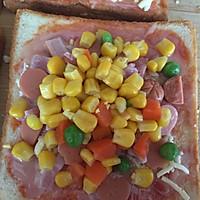 早餐吐司披萨(超简单)的做法图解4