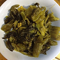 大喜大牛肉粉试用:双椒酸菜鱼的做法图解5