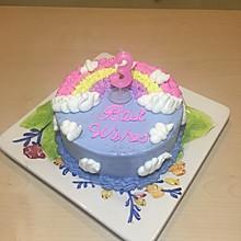 彩虹蛋糕6寸