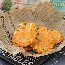 #美食视频挑战赛#芝士鸡肉蔬菜饼