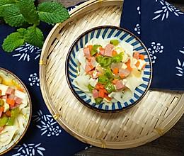 #做道懒人菜,轻松享假期#五色臊子面的做法