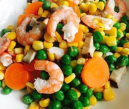 幼儿食谱一营养均衡基围虾的做法