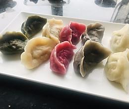 五色饺子的做法