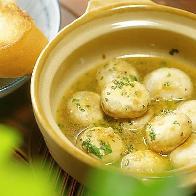 蒜香烤蘑菇【微体兔菜谱】