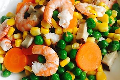 幼儿食谱一营养均衡基围虾