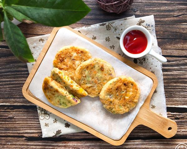 虾仁鲜蔬土豆饼的做法