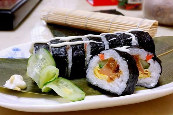 简单美味寿司的做法
