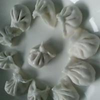 剁椒金针菇蒸水晶饺的做法图解2
