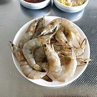 黄油茄汁大虾#快手又营养,我家的冬日必备菜品#的做法图解1