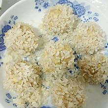 珍珠豆腐肉丸子