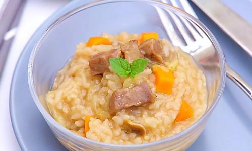 牛肉蔬菜烩饭 宝宝辅食食谱的做法