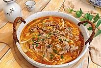 #营养小食光#金针菇番茄肥牛卷的做法