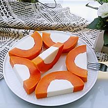 木瓜椰奶冻#魔膳师夏日魔法甜品#