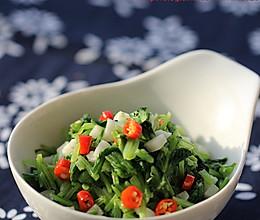 【膳食】蒜蓉萝卜秧的做法