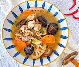 #橄榄中国味 感恩添美味#冬天来一碗,清燥暖胃的做法