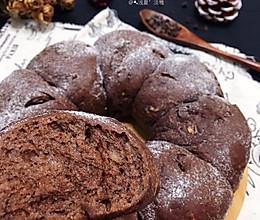 #一起加油,我要做A+健康宝贝#全麦杏仁巧克力面包的做法