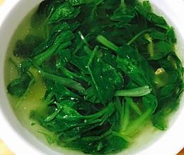小青菜汤的做法